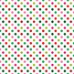 digital paper with polka dots in holiday red, green and pink .jpg files TPT193