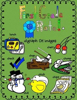 digraph CH clip art images