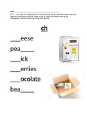 digraph ch food vs non foods