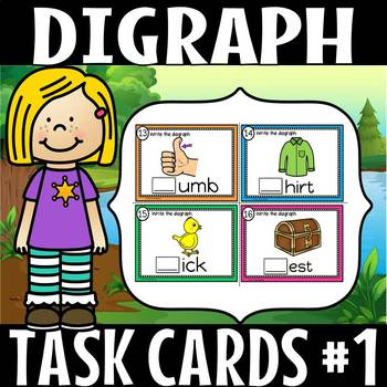 digraph task cards set 1 (50% off for 48 hours)