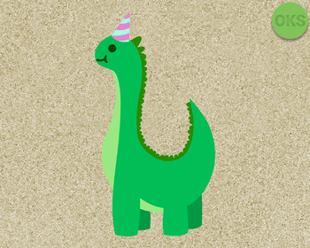 dino birthday boy SVG cut files, DXF, vector EPS cutting file instant download
