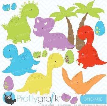 dinosaur clipart commercial use, vector graphics, digital clip art - CL452
