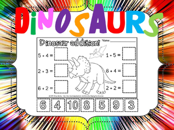 dinosaur cut and paste(free)