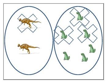 dinosaur egg subtraction