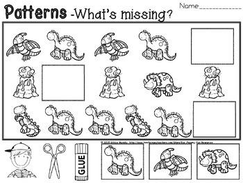 dinosaur patterns
