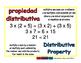 distributive property/propiedad distributiva prim 1-way blue/rojo