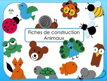dito animaux fiches de construction et gabarits