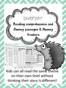diversity fluency and comprehension leveled passages