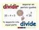 divide/dividir prim 1-way blue-rojo