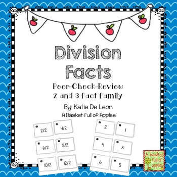 Division Fact Families 2 and 3: Cooperative Learning Peer-Check-Review