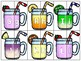 dollar deal: alphabet 2 part matching puzzle_upper to lower_smoothie theme