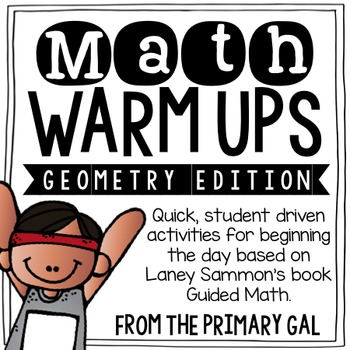 Measurement & Geometry Math Warm Ups