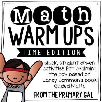 Measurement & Time Math Warm Ups