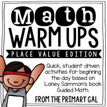 Place Value Math Warm Ups