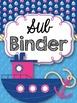 Teacher Binder {Nautical Themed}