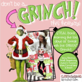 don't be a GRINCH!!