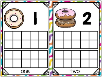 donut math_mini bundle