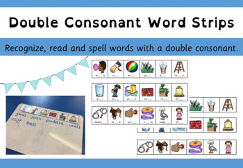 double consonant word strips
