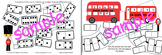 double dominoes London double decker buses