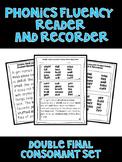 double final consonant - Phonics Fluency Assessment