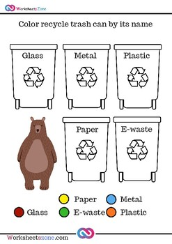 Download Recycling Free Worksheets By Worksheetszone Tpt - Get Recycling Worksheets For Kindergarten Free Pictures