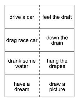 /dr/ blend phrase flashcards