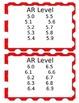 dr. seuss AR classroom library labels