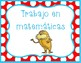 dr seuss math station labels Spanish and English