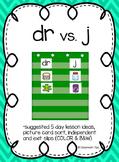 dr vs. j: Sound Sort (COLOR & BW)