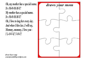 draw your mom, puzzle