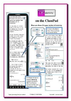 e-Activity on the ClassPad