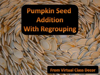 eBooks - Pumpkin Seed Addition With Regrouping