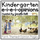 Opinion Writing (A Kindergarten Writing Workshop Unit)