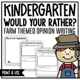 Opinion Writing (A Kindergarten Writing Workshop Unit)