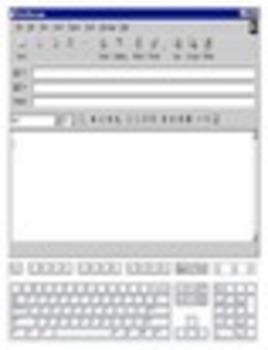 e-mail writing template