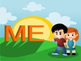 e-story ME! for theme All About ME! (Pre-School to Kindergarten)