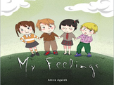 Interactive e-story feelings/emotions theme for kinder -grade one