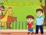 Interactive e-story for zoo animals theme