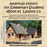 eBook#1 Lessons 1-5 - Early American History for Beginners