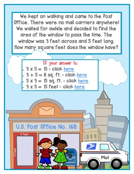 eBook-Digital Math Mystery-Case of the Trouble in Our Town-Grade 3-CCSS