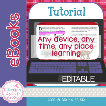 eBook Tutorial - Support any time, any place, any device learning!
