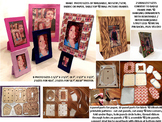 eBook download washable no sew / paper picture frame patterns 8 photo sizes