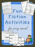 Graphic Organizers, Projects, and Assessments for ANY Novel!