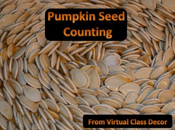 eBooks - 2 Pumpkin Seed Counting Books