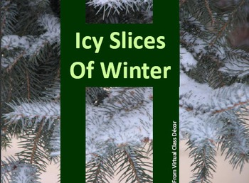 eBooks - Icy Slices of Winter -  7 Books Demonstrating the Writing Process