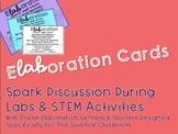 eLABoration cards - Science Sentence Starters