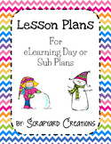 eLearning Lesson or Sub Plan