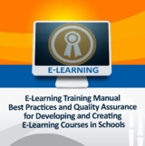 Distance Learning Training Manual Online Classroom Best Pr