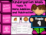 Kindergarten Math - Topic 9: More Addition and Subtraction