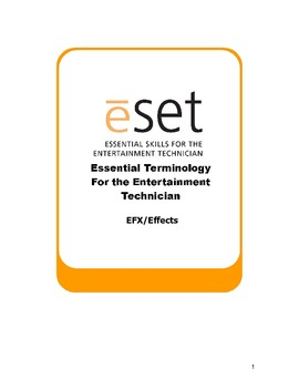 eSET: Special Effects for Theatre